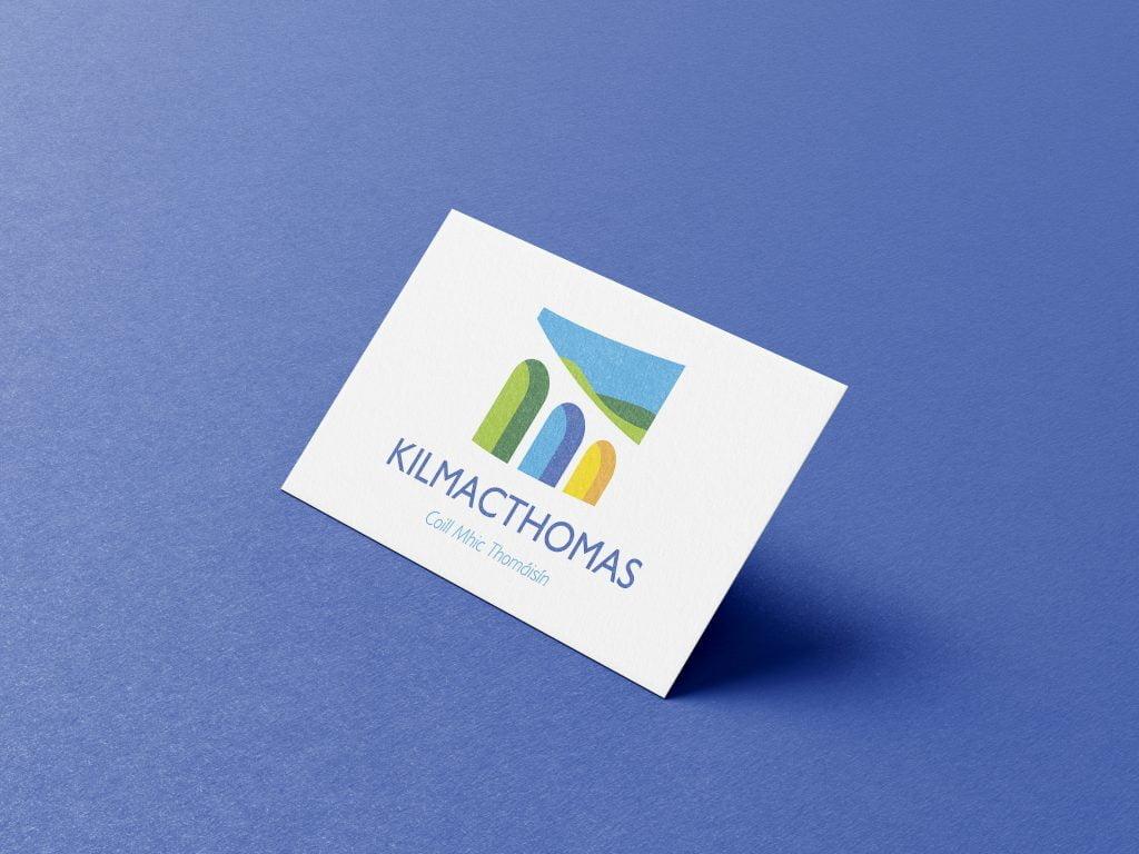 Kilmacthomas logo business card mockup